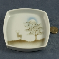 Square Pin Dish Stag