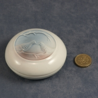 Round Lidded Dish Woodlands - Dusk