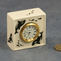 Square Clock Killer Whales