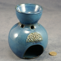 Incense Burner Celtic Blue