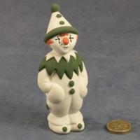Large Clown Standing Green