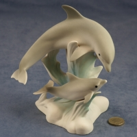 L015 - Large Pair of Dolphins