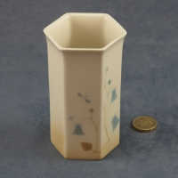 Small Hexagonal Vase 11 x 5