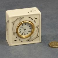 Square Clock - 6 x 6 x 3