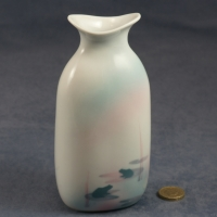 Tall Oval Bud Vase - 16 x 7 x 5