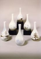 Round Stem Vases