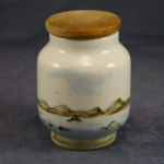 Small Storage Jar Seascape