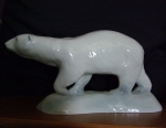 Polar Bear Glazed Finish