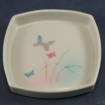 Square Pin Dish Butterflies