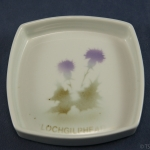 Square Pin Dish Thistle with Lochgilphead