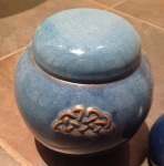 Ginger Jar Celtic Design