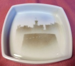 Square Pin Dish Edinburgh Castle