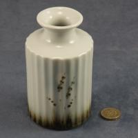 Round Fluted Vase Grasses