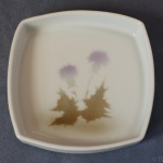Square Pin Dish Thistle