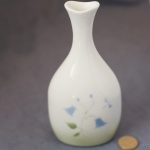 Oval Bud Vase Harebell Green