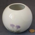 Round Vase Thistle