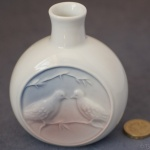 Small Bottle Vase Woodlands Dusk