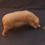 S166 - Feeding Pig