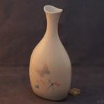 Oval Bud Vase Butterflies