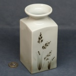 Large Square Vase Grasses