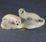 Seal Pups Glazed